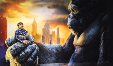 3D Art World - King Kong